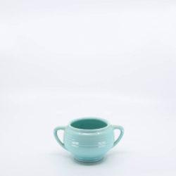Pacific Pottery Hostessware 403 Sugar Aqua