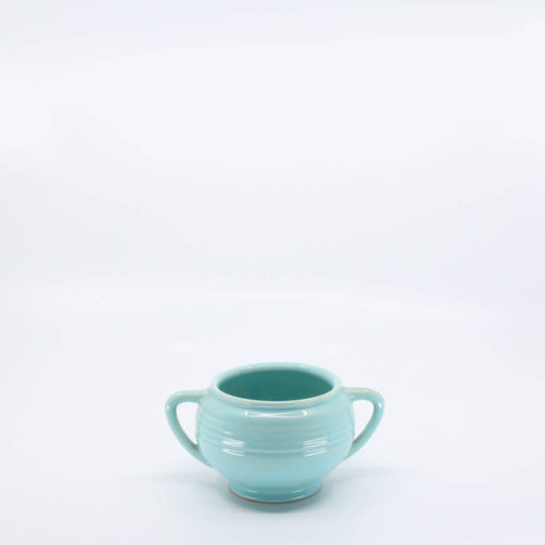 Pacific Pottery Hostessware 403 Sugar Aqua