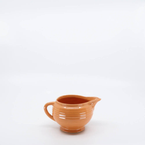 Pacific Pottery Hostessware 404 Creamer Apricot