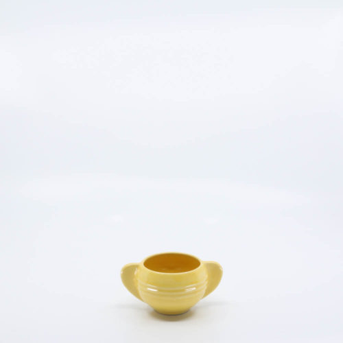 Pacific Pottery Hostessware 407 Ind Sugar Yellow