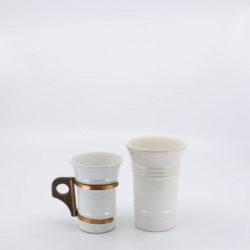Pacific Pottery Hostessware 409-411 Tumbler White