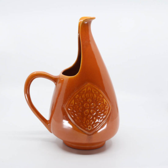Pacific Pottery Hostessware 417 Antique Pitcher Red