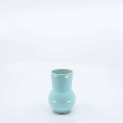 Pacific Pottery Hostessware 419 Ball Tumbler Aqua