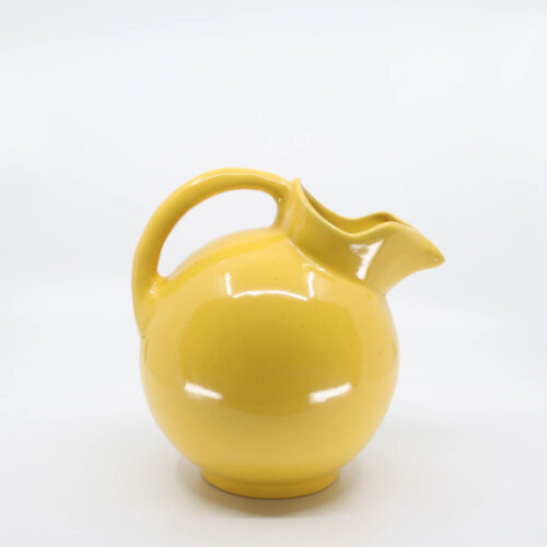 Pacific Pottery Hostessware 420 Ball Pitcher Yellow