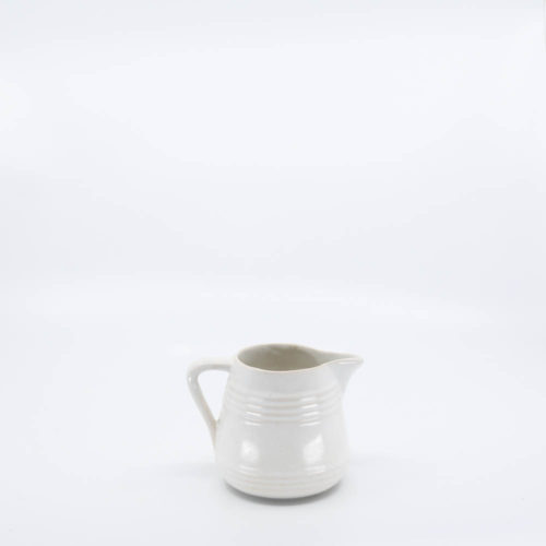 Pacific Pottery Hostessware 427 1-Pint Pitcher White