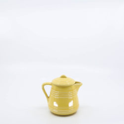 Pacific Pottery Hostessware 427-427A 1/2-Pt Pitcher Yellow