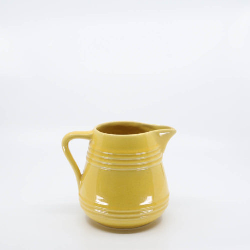 Pacific Pottery Hostessware 429 1-Qt Pitcher Yellow