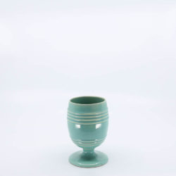 Pacific Pottery Hostessware 433 Goblet Green