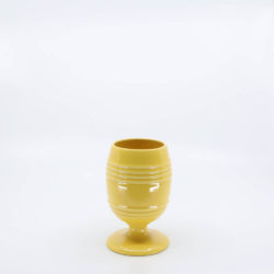 Pacific Pottery Hostessware 433 Goblet Yellow