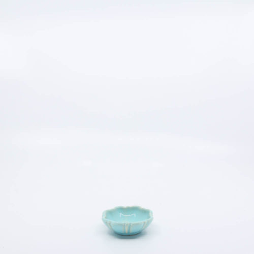 Pacific Pottery Hostessware 437 Nut Dish Aqua