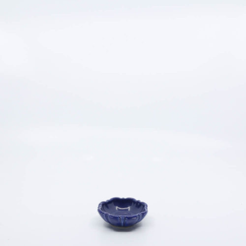 Pacific Pottery Hostessware 437 Nut Dish Pacblue