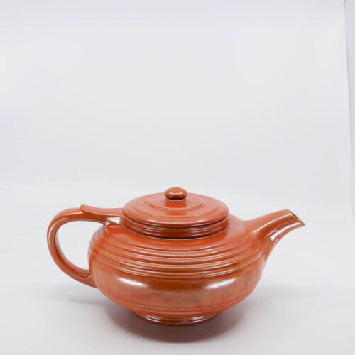 Pacific Pottery Hostessware 440 Teapot Red Early
