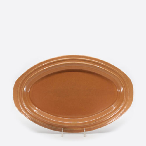 Pacific Pottery Hostessware 444 Oval Platter Apricot