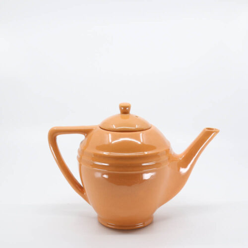 Pacific Pottery Hostessware 447 6-Cup Teapot Apricot