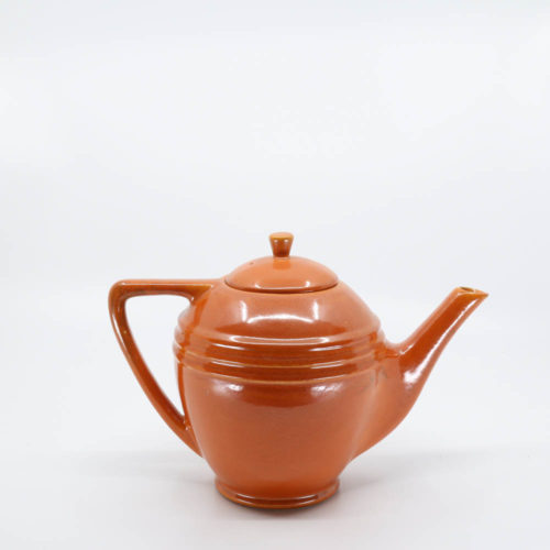 Pacific Pottery Hostessware 447 6-Cup Teapot Red