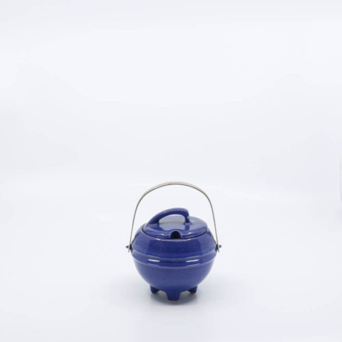 Pacific Pottery Hostessware 448 Marmelade Jar Pacblue