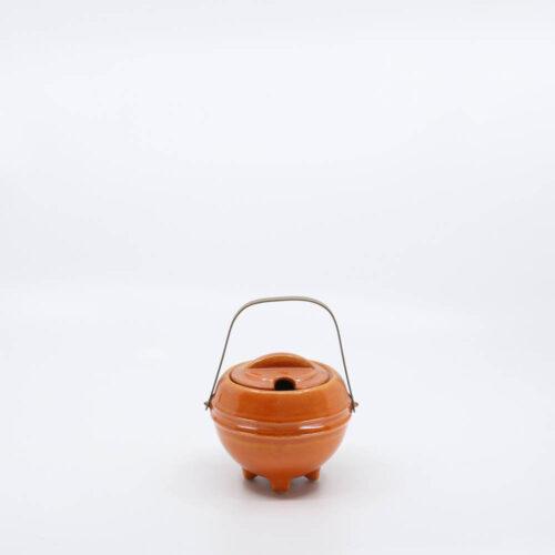 Pacific Pottery Hostessware 448 Marmelade Jar Red