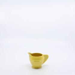 Pacific Pottery Hostessware 449 Demi Creamer Yellow