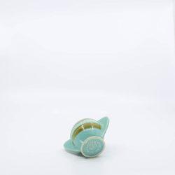 Pacific Pottery Hostessware 450 Demi Sugar Dec 2007 Green