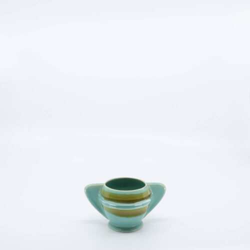 Pacific Pottery Hostessware 450 Demi Sugar Dec 2007 Green