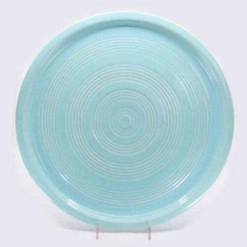 Pacific Pottery Hostessware 451 Target Platter Aqua