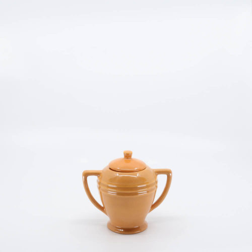 Pacific Pottery Hostessware 463 Restyled Sugar Apricot