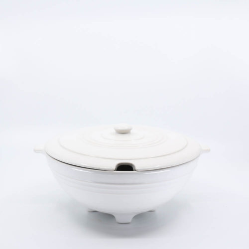 Pacific Pottery Hostessware 604 Tureen White