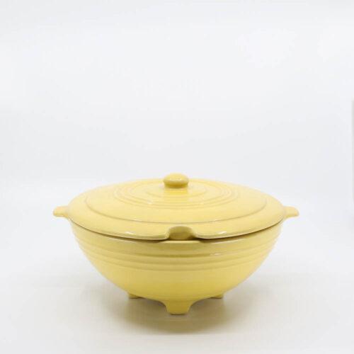 Pacific Pottery Hostessware 604 Tureen Yellow
