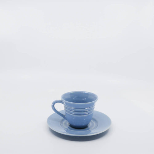 Pacific Pottery Hostessware 608-609A Teacup & Saucer Delph