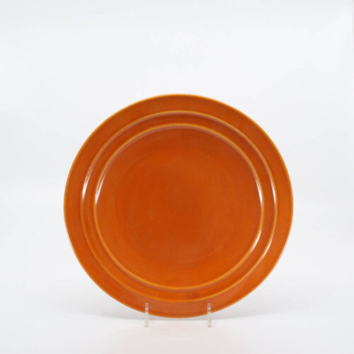 Pacific Pottery Hostessware 611 Luncheon Plate Red