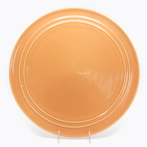 Pacific Pottery Hostessware 612 Chop Plate Apricot