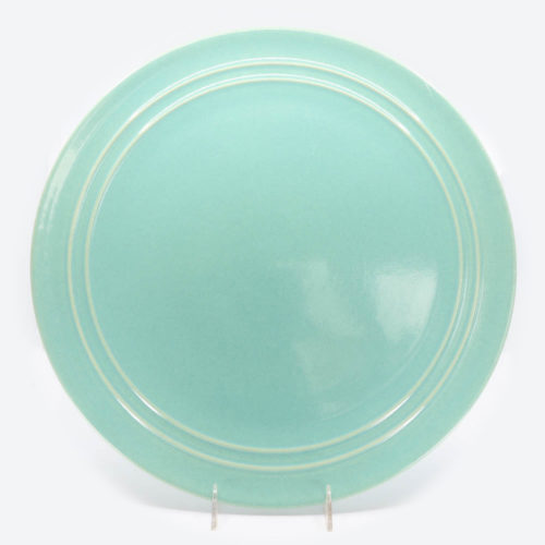 Pacific Pottery Hostessware 612 Chop Plate Green