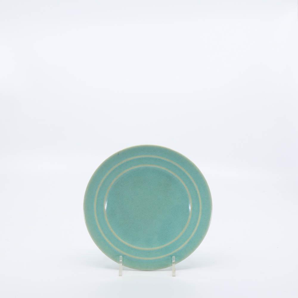 Pacific Pottery Hostessware 614 Bread Plate Green