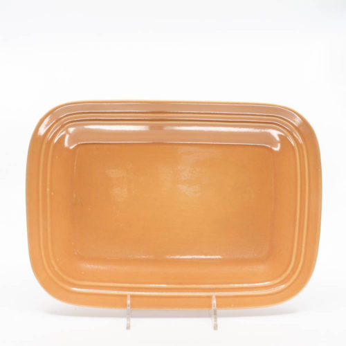 Pacific Pottery Hostessware 616 Rectangular Tray Med Apricot
