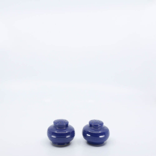 Pacific Pottery Hostessware 621-622 Salt Pepper Pacblue