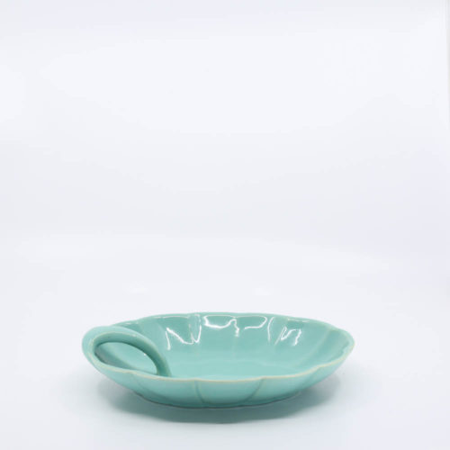 Pacific Pottery Hostessware 633 Candy Dish Green