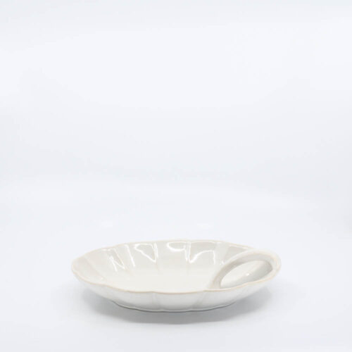 Pacific Pottery Hostessware 633 Candy Dish White