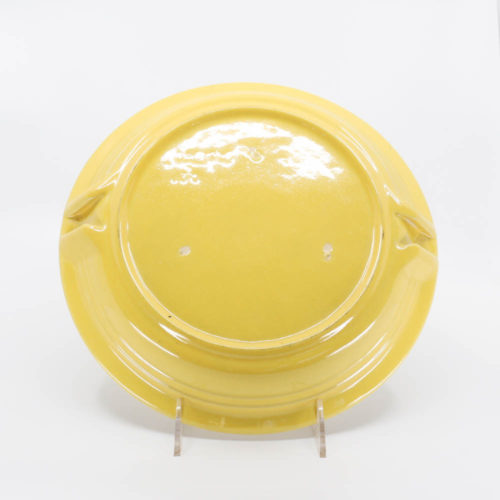 Pacific Pottery Hostessware 638 Pie Plate Yellow (back)