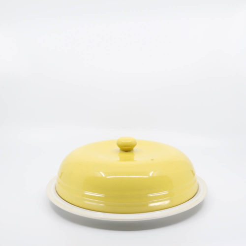 Pacific Pottery Hostessware 639 Muffin Lid Yellow