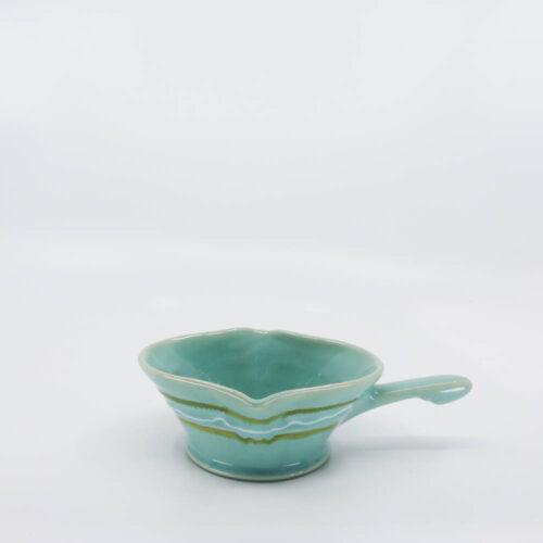Pacific Pottery Hostessware 641 Gravy 2006 Green