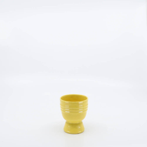 Pacific Pottery Hostessware 642 Eggcup Yellow