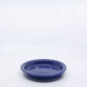Pacific Pottery Hostessware 645 Pie Plate Pacblue