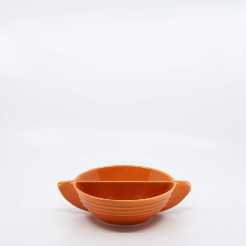 Pacific Pottery Hostessware 665 Tab Bowl Red