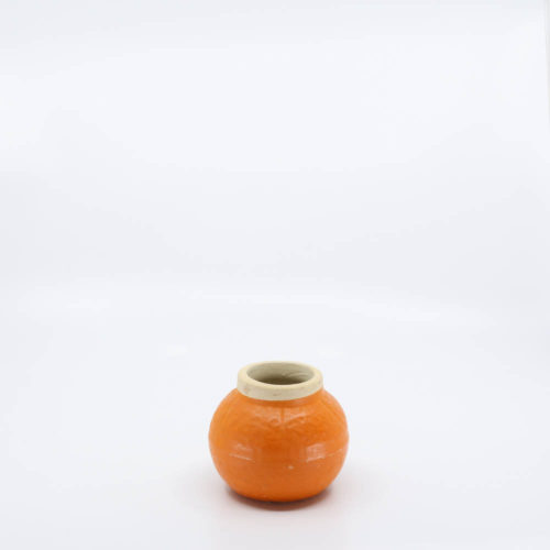 Pacific Pottery Hostessware Expo Orange Cold Paint