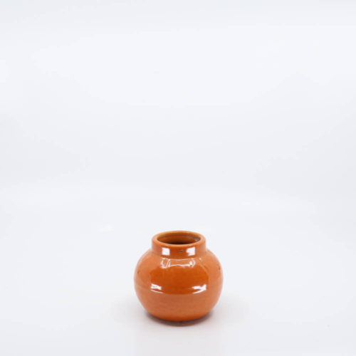 Pacific Pottery Hostessware Expo Orange Red