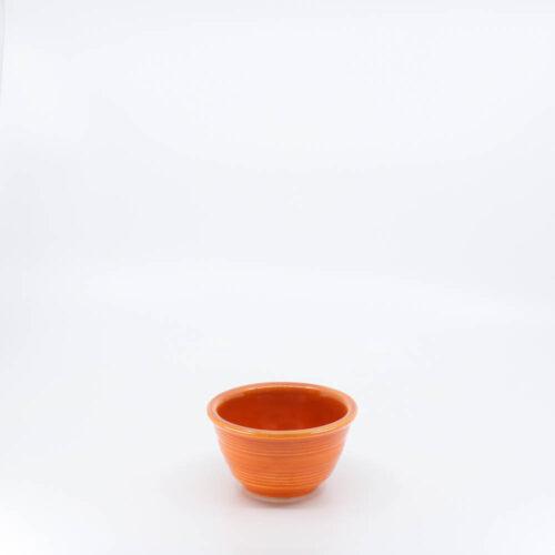 Pacific Pottery Hostessware 206 Custard Red