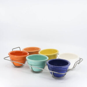 Pacific Pottery Hostessware 206 Custard Set