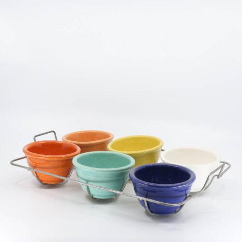 Pacific Pottery Hostessware 206 Custard Set