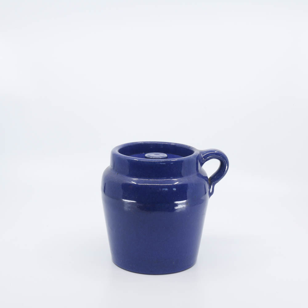 Pacific Pottery Hostessware 226 Beanpot Pacblue