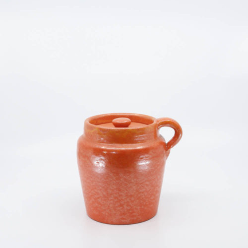 Pacific Pottery Hostessware 226 Beanpot Red